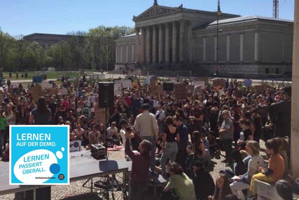 #allefürsklima demo am Königsplatz