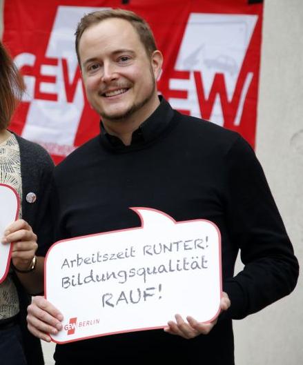 Ryan Plocher .GEW BERLIN / Christian von Polentz