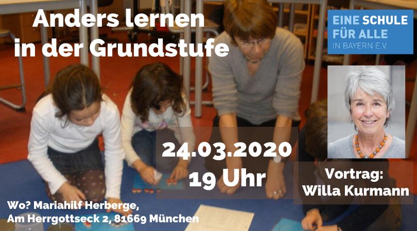 Vortrag: Anders Lernen in der Grundschule