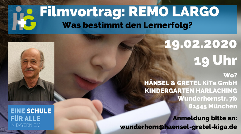 Filmvortrag Remo Largo in Harlaching