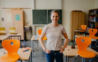 Schulleiterin Anna Fröhlich