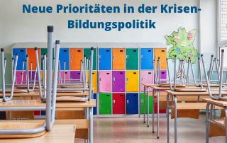 Forum Bildungspolitik: Krisen-Bildungspolitik