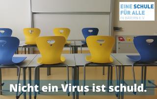 Nicht ein Virus ist schuld.