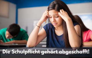 Blogbeitrag von Philip Kovce Die Schulpflicht gehört abgeschafft